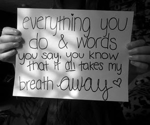 words, love, and breathe away image