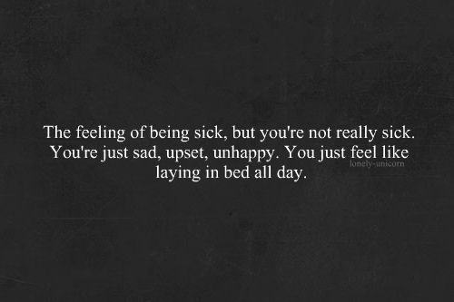 feeling sick quotes shared by DISTORTION on We Heart It