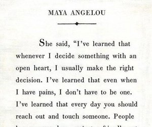 article, maya angelou, and quote image