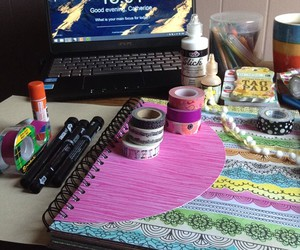art, journaling, and scrapbooking image
