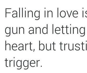 gun, happy, and heart image