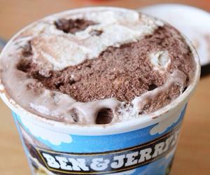 ice cream, chocolate, and girl image