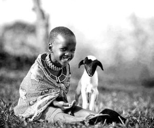 africa, cabra, and blanco y negro image