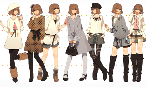 anime style clothing biyo geka org photo style