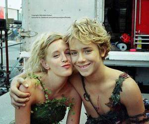 jeremy sumpter, peter pan, and tinker bell image