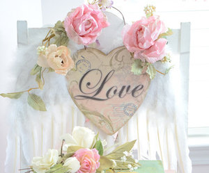 love, flowers, and pastel image