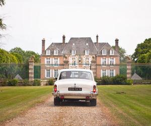car, france, and wedding image