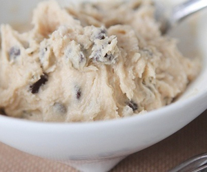 chocolate, food, and cookie dough image