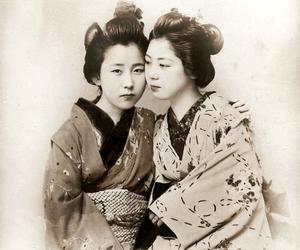 geisha, girls, and japan image
