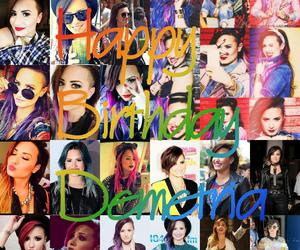 birthday, lovato, and demi image