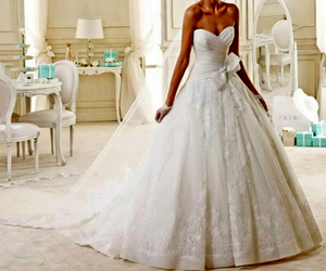 August, bride, and gorgeous image