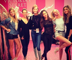 candice swanepoel, Victoria's Secret, and Karlie Kloss image