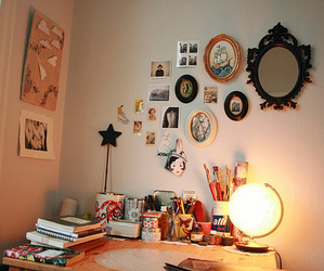 room, girly, and pretty image