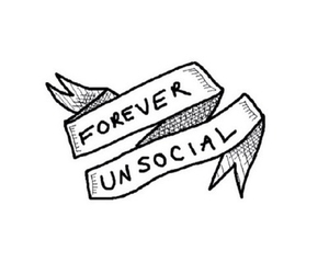 unsocial, overlay, and transparent image