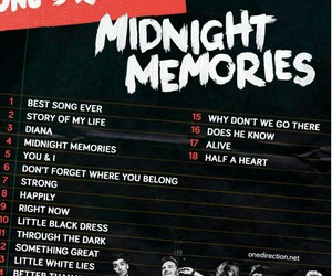 one direction, midnight memories, and Harry Styles image
