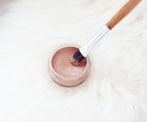 cosmetics, eye shadow, and lips image