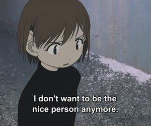 quotes, anime, and sad image