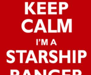 starship, starkid, and keep calm image