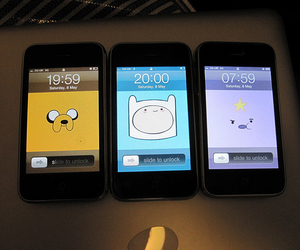 iphone, adventure time, and finn image