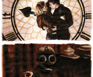 captain jack harkness, doctor who, and rose tyler image
