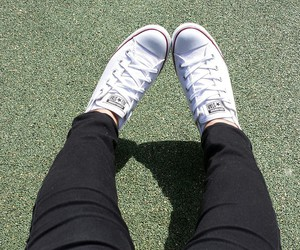 all star, converse, and me image