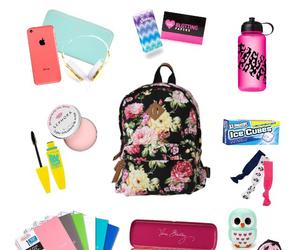 essentials, school, and supplies image