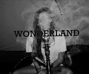 text, wonderland, and young image