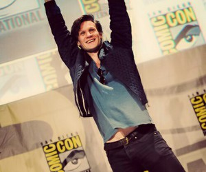 matt smith, doctor who, and comic con image