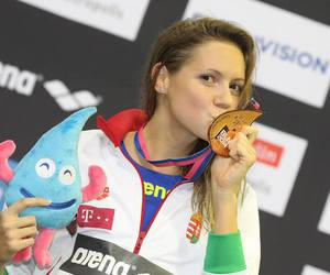 Best, medal, and swimmer image