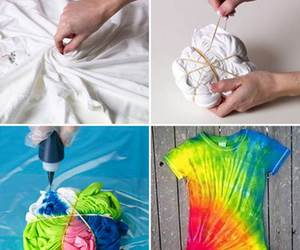 diy, tie dye, and tips image