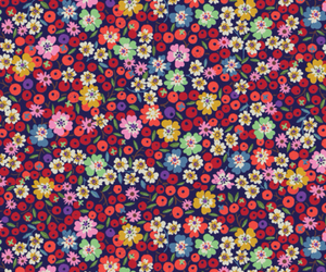 background, floral, and kawaii image
