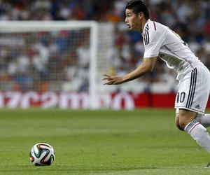 football, james rodriguez, and real madrid image