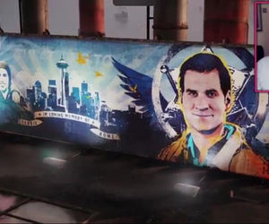 infamous second son, delsin rowe, and reggie rowe image