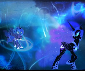 MLP, night, and princess of darkness image