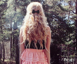 blonde, braids, and curly image