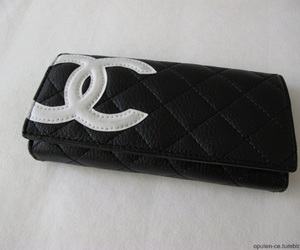 black, chanel, and details image