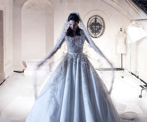 fashion, wedding dress, and ralph and russo image