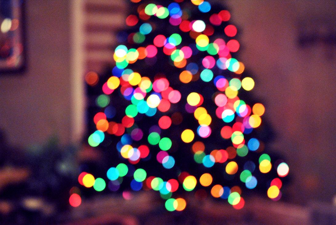 bokeh christmas christmas tree december holiday lights inspiring picture on favimcom - Blurred Christmas Lights