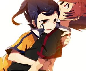 inazuma eleven go, tsurugi kyousuke, and matsukaze tenma image