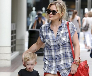 Hilary Duff and luca image