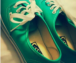 green, water, and vans image