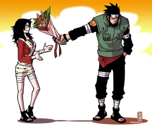 kurenai, naruto, and asuma image