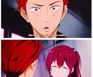 anime, blush, and kawaii image