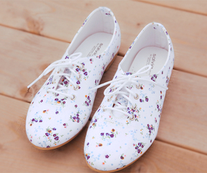 shoes, cute, and flowers image