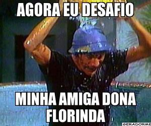 chaves, desafio do gelo, and humor image