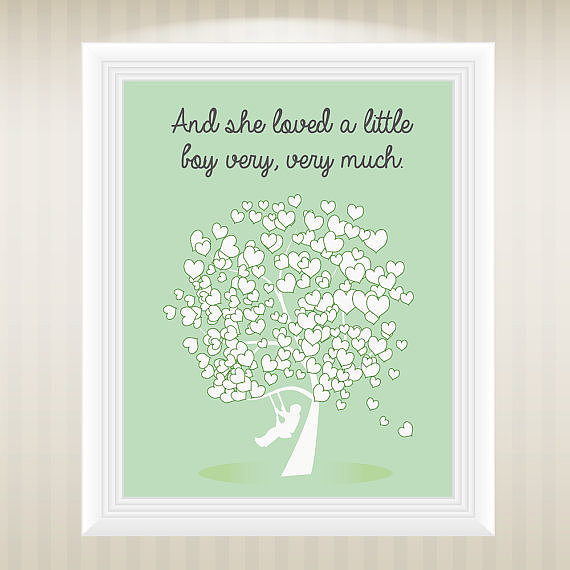 a variation of the Giving Tree- art- Quotes About Boys | Mom