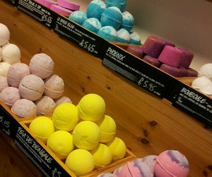 lush, cosmetics, and fashion image