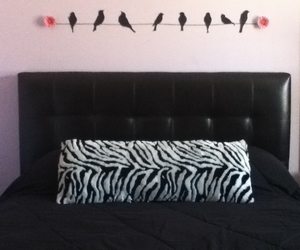 birds, girly, and silhouette image