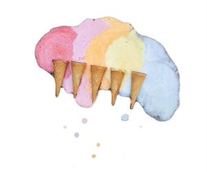 transparent, ice cream, and tumblr image