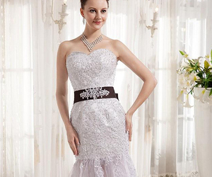 fashion, wedding, and women image